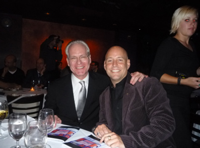 Tim Gunn and Tony